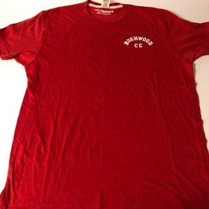 Homage Caddyshack Bushwood Country Club Red shirt